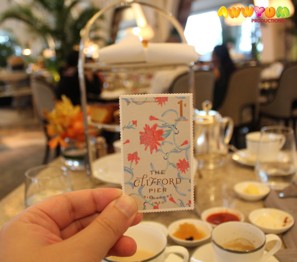 Fullerton Bay Hotel – The Clifford Pier – High Tea